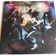 Discos de vinilo: KISS. 2 LP. ALIVE. EDICIÓN FRANCESA. CASABLANCA 1974. Lote 89566312