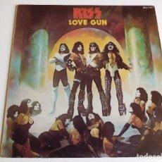 Discos de vinilo: KISS. LP. LOVE GUN. EDICIÓN FRANCESA. CASABLANCA 1977. Lote 89566368