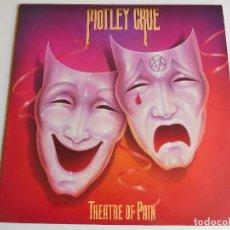 Discos de vinilo: MOTLEY CRUE. LP. THEATRE OF PAIN. EDICIÓN ESPAÑOLA PROMOCIONAL CON POSTER. WEA. ELEKTRA 1985. Lote 57626025