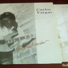 Discos de vinilo: CARLOS VARGAS - FRANCOTIRADOR - LP - 1988. Lote 89569904