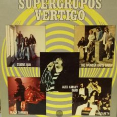 Discos de vinilo: SUPERGRUPOS VERTIGO - BLACK SABBATH, STATUS QUO, NAZARETH, SPENCER DAVIS GROUP.. LP RARO SPAIN 1974. Lote 89573828