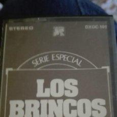 Discos de vinilo: CINTA CASETE LOS BRINCOS. ESPECISL COLECCIONISTAS. Lote 89577636
