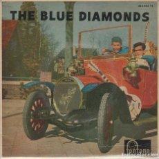 Discos de vinilo: THE BLUE DIAMONDS / NEAR YOU / ALWAYS / PAGAN LOVE SONG / MONA LISA (EP 1960). Lote 89582700