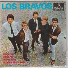 Dischi in vinile: LOS BRAVOS / SIMPATHY + 3 (EP 1967). Lote 197632887