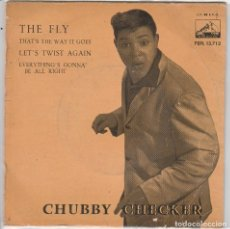 Dischi in vinile: CHUBBY CHECKER / THE FLY + 3 (EP 1962). Lote 89585820