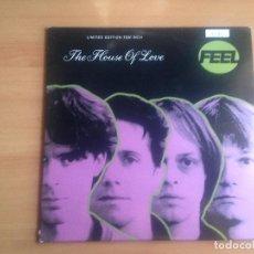 Discos de vinilo: EP DISCO VINILO 10 PULGADAS THE HOUSE OF LOVE FEEL +3 EDICCION NUMERADA. Lote 89589212