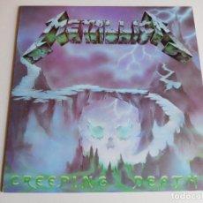 Discos de vinilo: METALLICA. EP. CREEPING DEATH. EDICIÓN INGLESA. MFN 1984. Lote 89589716