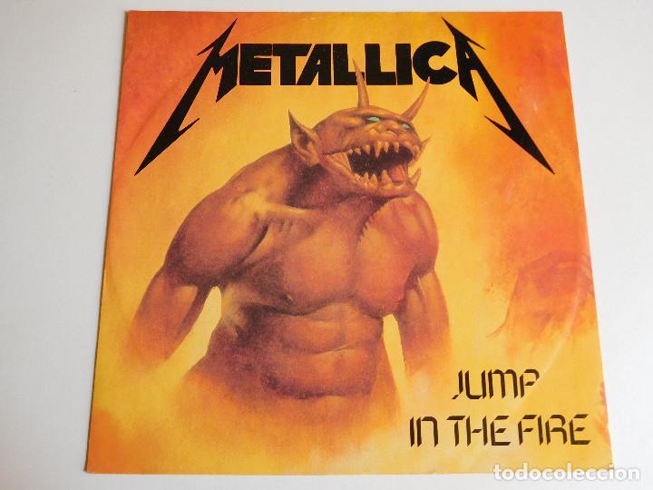 METALLICA. MAXI SINGLE. JUMP IN THE FIRE. EDICIÓN INGLESA. MFN 1983 (Música - Discos de Vinilo - EPs - Heavy - Metal)