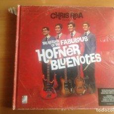 Discos de vinilo: BOX SET 2 CD + 2 DISCOS VINILO 10 PULGADAS + LIBRETO THE RETURN OF THE FABULOUS HOFNER BLUENOTES NUE. Lote 89590332