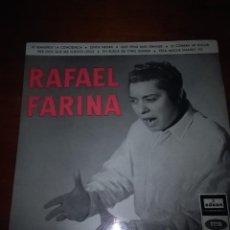 Discos de vinilo: RAFAEL FARINA. TE REMUERDE LA CONCIENCIA. CINTA NEGRA. MB3. Lote 89594836