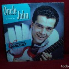 Discos de vinilo: CHRISTOPHE RAMBAULT / ONCLE JOHN / ROYAUME / FLARENASCH, 1986, FRANCIA.. Lote 89604772