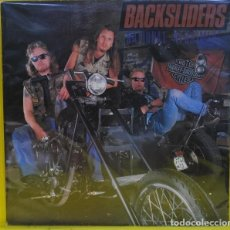 Discos de vinilo: BACKSLIDERS. NATIONAL NIGHTMARE. VINILO LP 1987. MEGAMANIA MUSIC. MADE IN ENGLAND. Lote 89606332