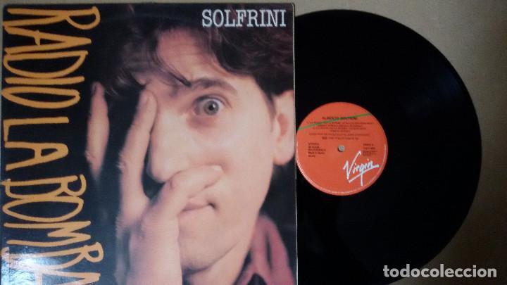 SOLFRINI - RADIO ES LA BOMBA (Música - Discos de Vinilo - Maxi Singles - Canción Francesa e Italiana)