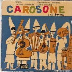 Discos de vinilo: SINGLE RENATO CAROSONE. TORERO. 1958. DISCO PROBADO Y BIEN. Lote 89614068