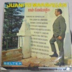Discos de vinilo: LP. JUANITO MARAVILLAS. MAS FANDANGOS. DISCOS BELTER. Lote 89624632