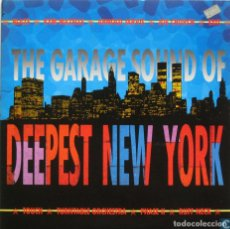 Discos de vinilo: THE GARAGE SOUND OF DEEPEST NEW YORK - VARIOUS. Lote 89626323