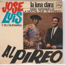 Discos de vinilo: JOSE LUIS Y SU GUITARRA / AL PIREO + 3 (EP 1966). Lote 89628476