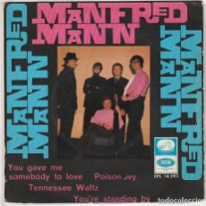 Discos de vinilo: MANFRED MANN / YOU GAVE ME SOMEBODY TO LOVE + 3 (EP 1966). Lote 89630432