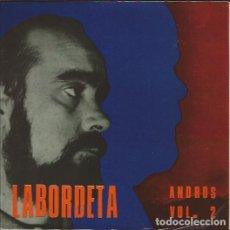 Discos de vinilo: EP- LABORDETA ANDROS VOL.2 FIDIAS 301 SPAIN 1968 ENCARTE INCLUIDO. Lote 89639248