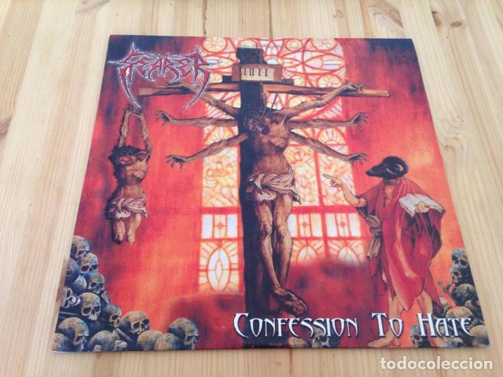 FEARER - CONFESSION TO HATE -DEATH METAL METAL (Música - Discos - LP Vinilo - Heavy - Metal)