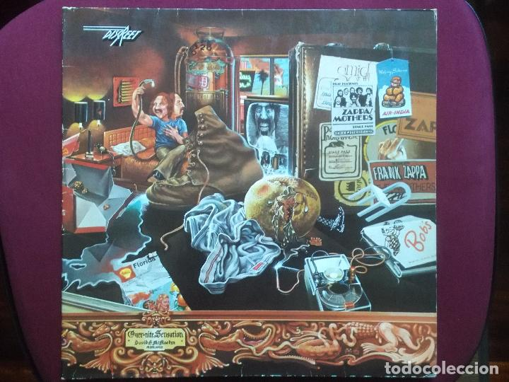 FRANK ZAPPA & THE MOTHERS-OVER-NITE SENSATION (LP.DISCREET.1973)PORTADA DOBLE.COLAB: JEAN-LUC PONTY (Música - Discos - LP Vinilo - Pop - Rock - Extranjero de los 70)