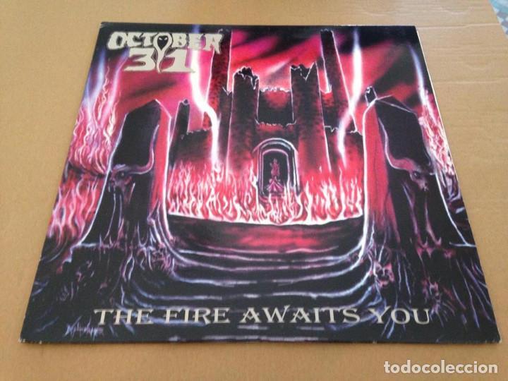OCTOBER 31 - THE FIRE AWAITS YOU LP-HEAVY METAL METAL SPEED (Música - Discos - LP Vinilo - Heavy - Metal)