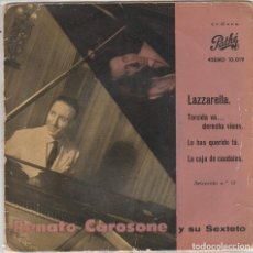 Disques de vinyle: RENATO CAROSONE / TORCIDA VA...DERECHA VIENE + 3 (EP 1959). Lote 89665160
