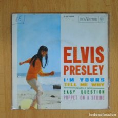 Discos de vinilo: ELVIS PRESLEY - I´M YOURS + 3 - EP. Lote 89671018