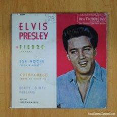 Discos de vinilo: ELVIS PRESLEY - FIEBRE + 3 - EP. Lote 89671139