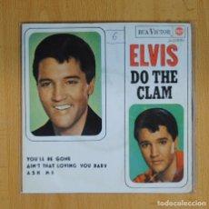 Discos de vinilo: ELVIS PRESLEY - DO THE CLAM + 3 - EP. Lote 89671367