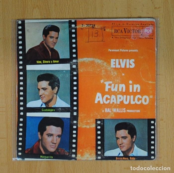 Elvis Presley Vino Dinero Y Amor 3 Ep Comprar Discos Ep