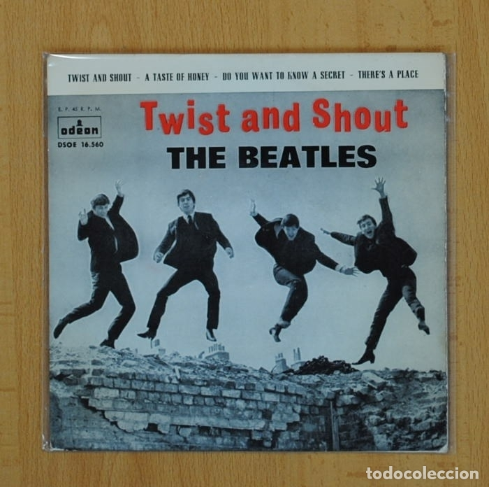 musica twist and shout the beatles