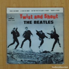Discos de vinilo: THE BEATLES - TWIST AND SHOUT + 3 - EP. Lote 89672271