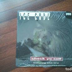 Discos de vinilo: ICE CUBE-CHECK YO SELF+BONUS TRACK.MAXI. USA. Lote 128201566