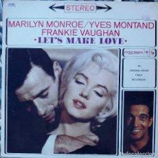 Discos de vinilo: MARILYN MONROE / YVES MONTAND. LET'S MAKE LOVE. LP USA EDICIÓN COLLECTORS SERIES. Lote 89676888
