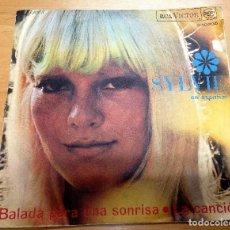 Discos de vinilo: SINGLE EDITA POR RCA ESPAÑA SYLVIE VARTAN / BALADA PARA UNA SONRIA/ LA CANCION . Lote 89677004