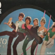 Discos de vinilo: MAXI ( PICTURE DISC ) NO DICE : COME DANCING . Lote 89688028