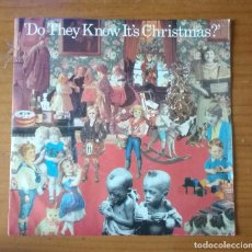Discos de vinilo: BAND AID - DO THEY KNOW IT´S CHRISTMAS. Lote 89698708