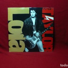 Discos de vinilo: ANDY TAYLOR / LOLA / SPACE STATION Nº.5 / AM, 1990.. Lote 89705992
