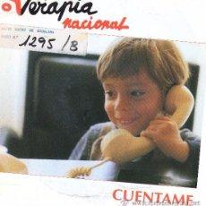 Discos de vinilo: TERAPIA NACIONAL- CUENTAME SINGLE PROMO 1993. Lote 89707556