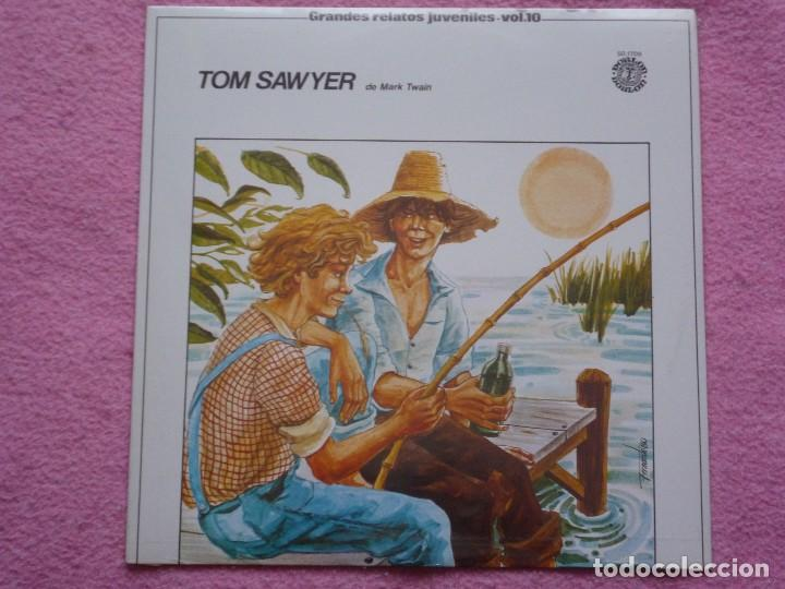Discos de vinilo: grandes relatos juveniles,tom sawyer vol.10 del 80 - Foto 1 - 115264311