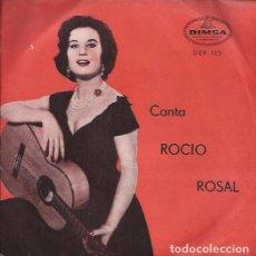 Discos de vinilo: EP- ROCIO ROSAL CANTA DIMSA 125 ARGENTINA 195??? TRI CENTER. Lote 89721076