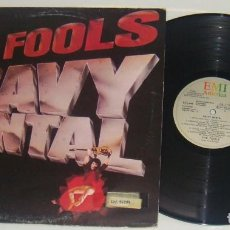 Discos de vinilo: LP - THE FOOLS - HEAVY MENTAL - PROMOCIONAL - THE FOOLS - HEAVY MENTAL - PROMO. Lote 89724780