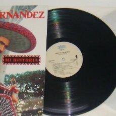Discos de vinilo: 2LP - VICENTE FERNANDEZ - MI HISTORIA - VICENTE FERNANDEZ. Lote 89725532