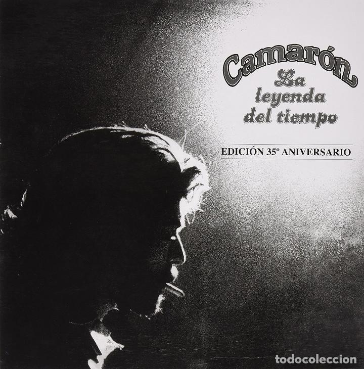 CAJA CAMARON LA LEYENDA DEL TIEMPO VINILO+CD+ DVD+ LIBRO GASTOS DE ENVÍO GRATIS A LA PENINSULA (Música - Discos - LP Vinilo - Flamenco, Canción española y Cuplé)