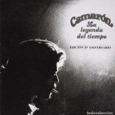 Discos de vinilo: CAJA CAMARON LA LEYENDA DEL TIEMPO VINILO+CD+ DVD+ LIBRO. Lote 91537048