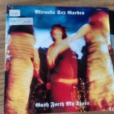 Discos de vinilo: SINGLE (VINILO) DE MIRANDA SEX GARDEN AÑOS 90. Lote 89741284