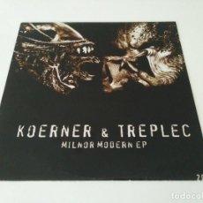 Disques de vinyle: KOERNER & TREPLEC - MILNOR MODERN EP. Lote 89752880