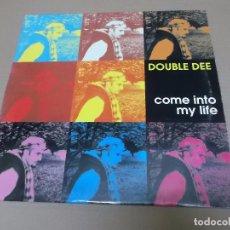 Discos de vinilo: DOUBLE DEE (MX) COME INTO MY LIFE +3 TRACKS AÑO 1995 – EDICION ITALIA. Lote 89765232