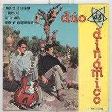Discos de vinilo: DUO DINAMICO. LAMENTOS DE GUITARRA X 3. LA VOZ DE SU AMO 1964. EP. Lote 89768084
